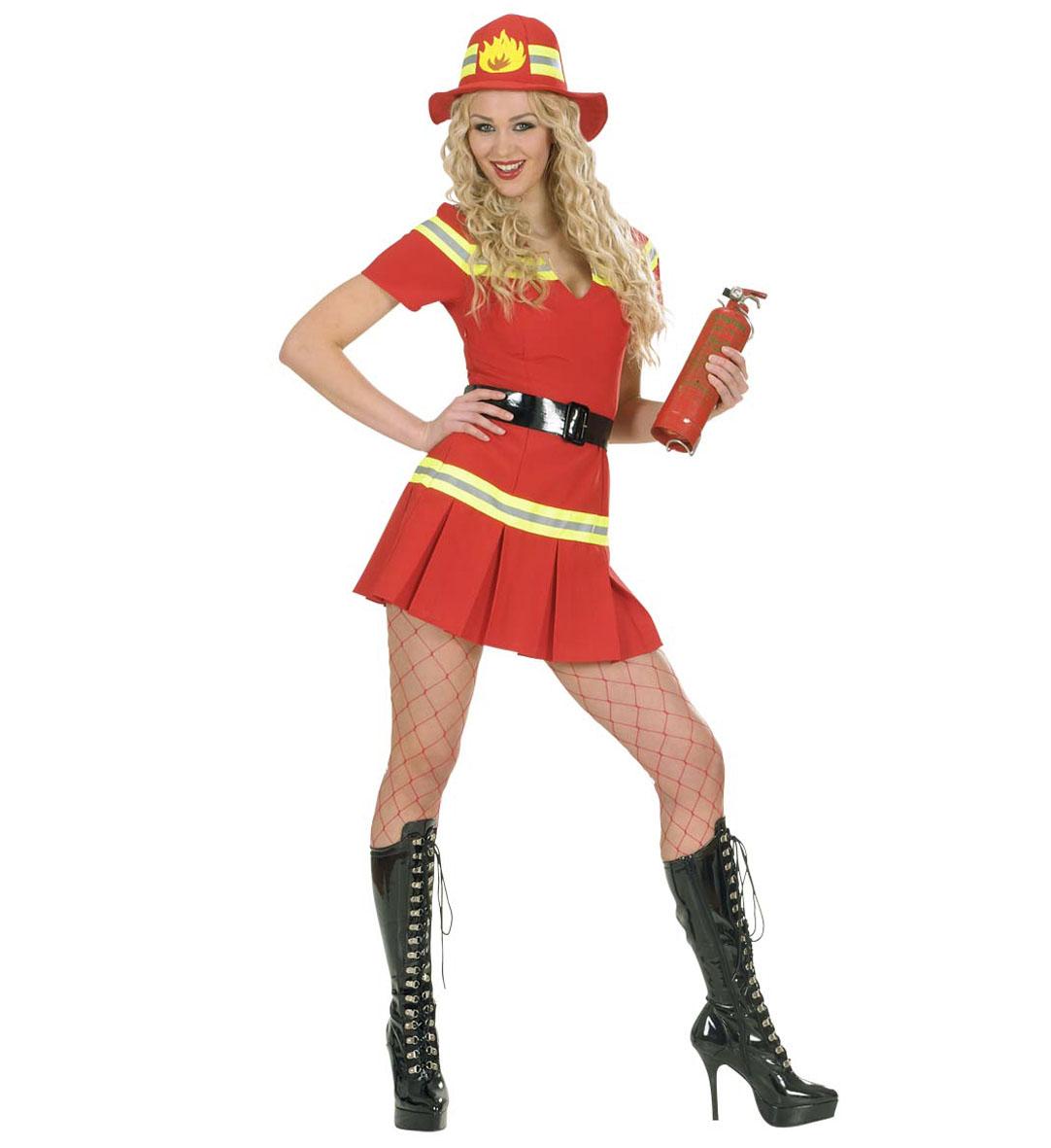 Tűzoltó női jelmez Minitoys web ruh z 506ebf3fab