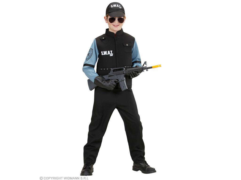 SWAT különleges rendőr fiú jelmez Minitoys web ruh z 0113d3dbea