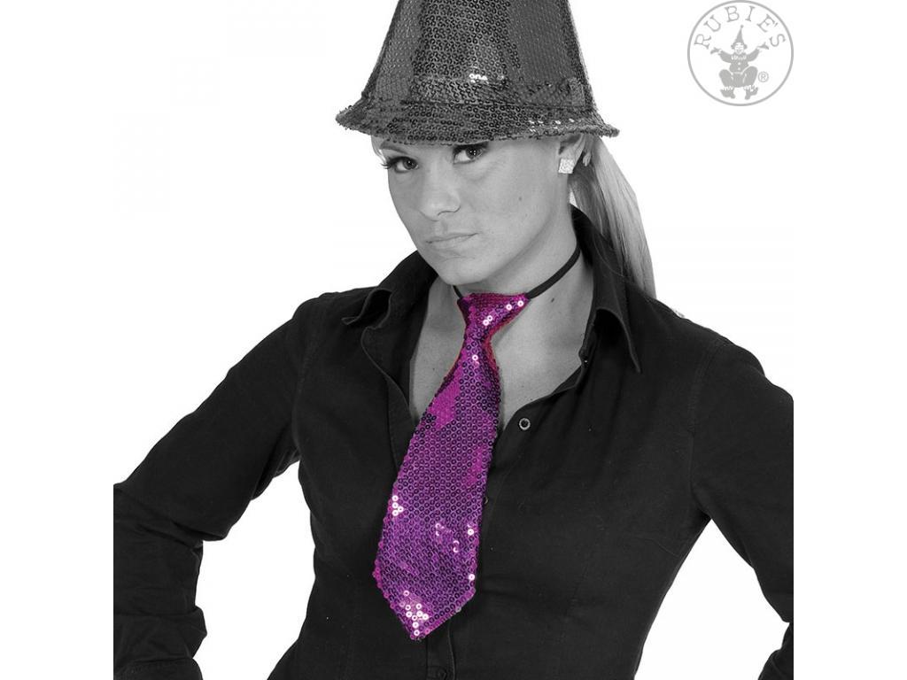Csillogó nyakkendő lila lila színben Kiegészítõk,kellékek Minitoys webruhz