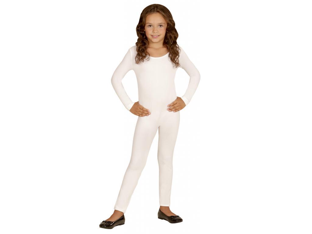 004d6d65e4 Body kezeslábas lány jelmez fehér színben