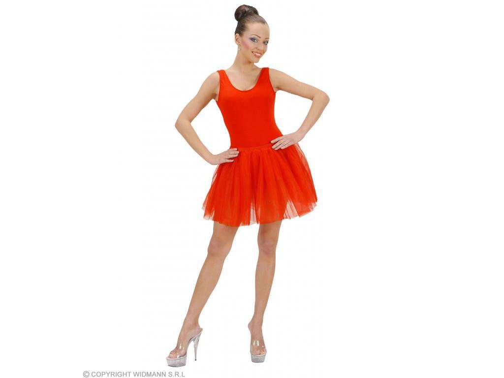 Tüll szoknya piros női jelmez felnőtt általános méretben Minitoys ... 3535e7c50b