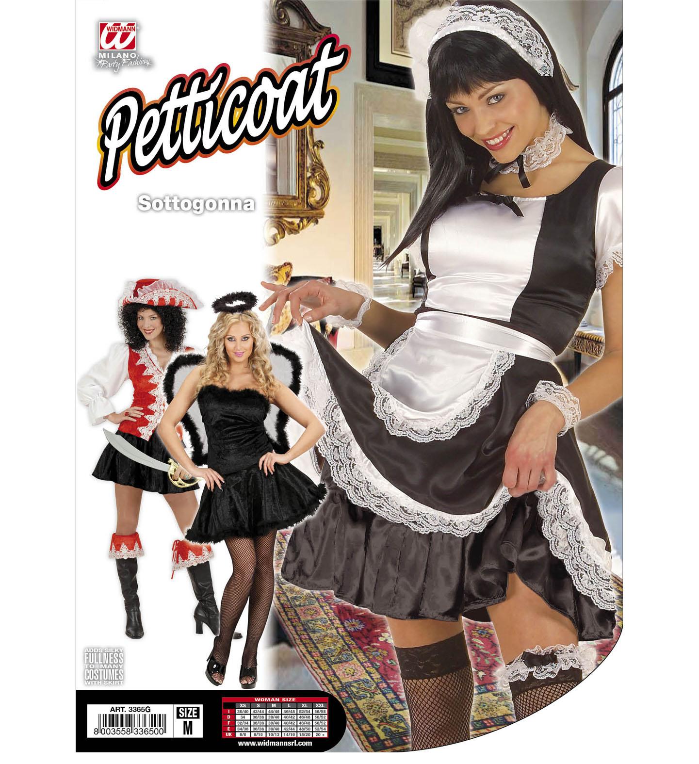 ... Petticoat alsószoknya fekete női jelmez felnőtt általános méretb ... 933c9e3f37