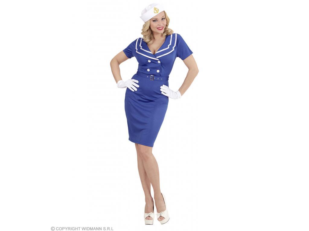 Matróz hölgy női jelmez Minitoys web ruh z 109842de69