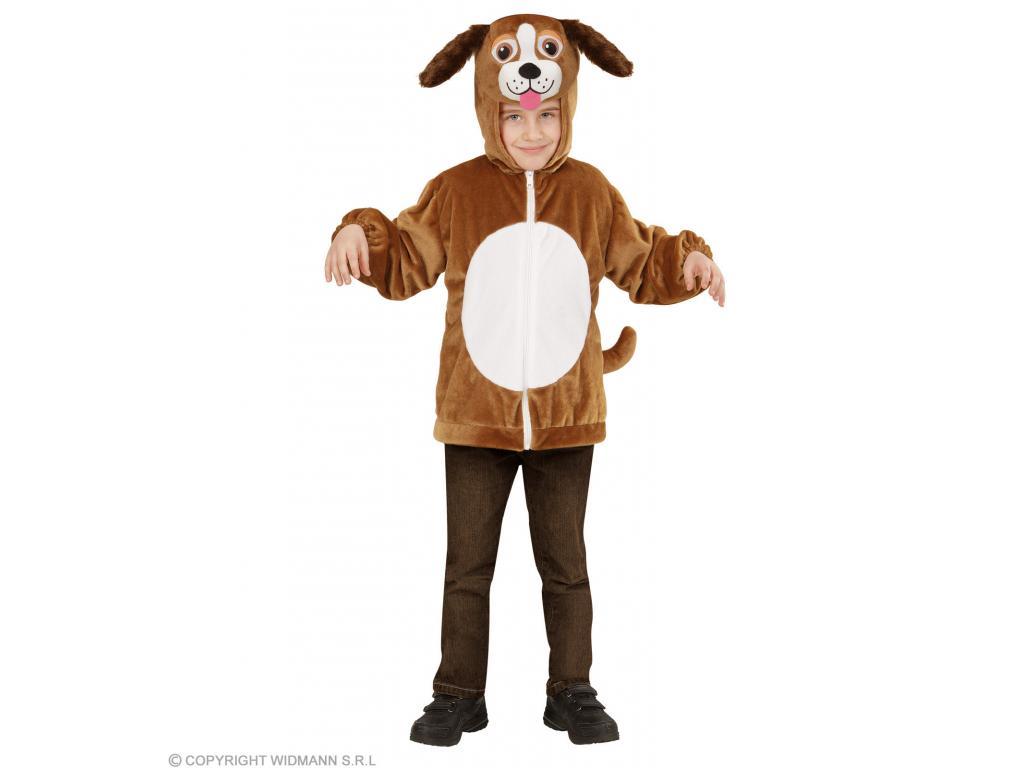 Kutya plüss kapucnis felső unisex gyermek jelmez Minitoys web ruh z d5d45cb227