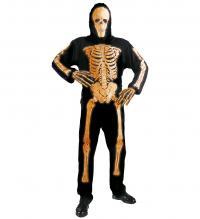 bcdcf2b8a5 3D Neon csontváz ruha 3 féle színben férfi jelmez