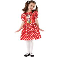 Minnie klasszikus lány jelmez piros színben bdecf824e6